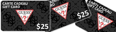 Guess Gift Cards - a 25 gift card at guess contest website june 2 2014 wannawin ca