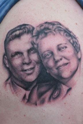 tattoo nightmares dad portrait bill byers tattoos mom dad portrait