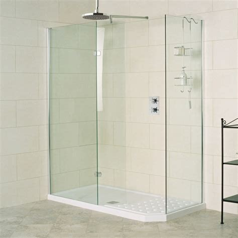 1700 Shower Enclosure by Sculptures 1700 X 800mm Walk In Shower Enclosure For