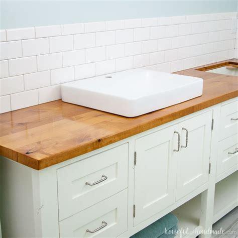 How To Waterproof Wood Countertops by Best 25 Vanity Tops Ideas On Granite Bathroom