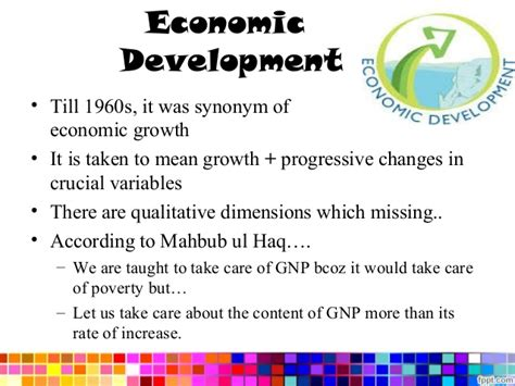 economic development economic growth economic development