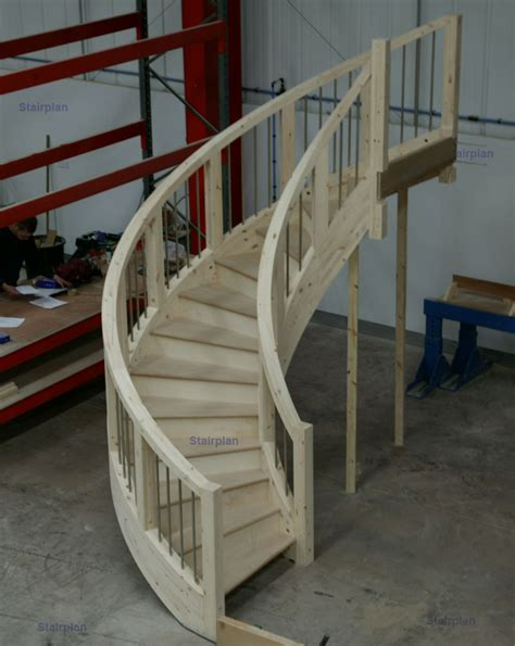 Curved Stairs Design Stairplan C Staircase Feature Geometric Circular Staircase