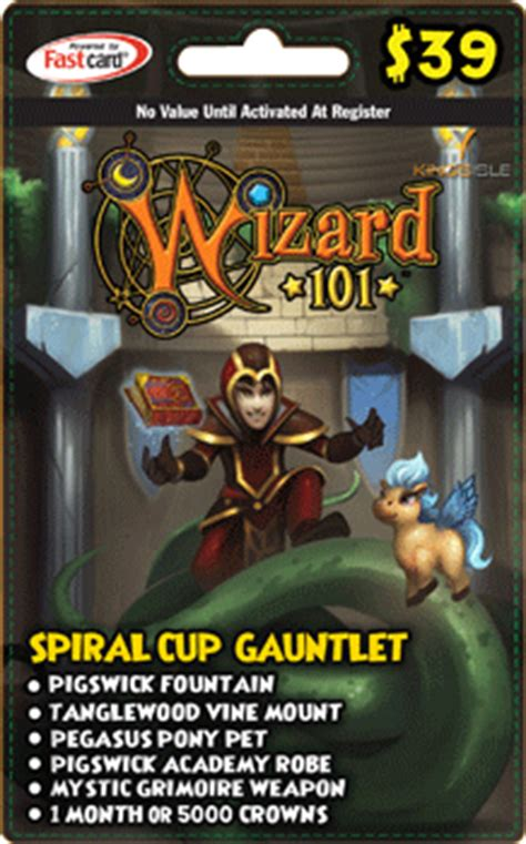 Wiki Gift Cards - item spiral cup gauntlet gift card wizard101 wiki