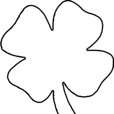 7 best images of big shamrock printables free shamrock
