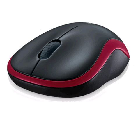 Mouse Komputer Logitech logitech m185 wireless optical mouse black deals