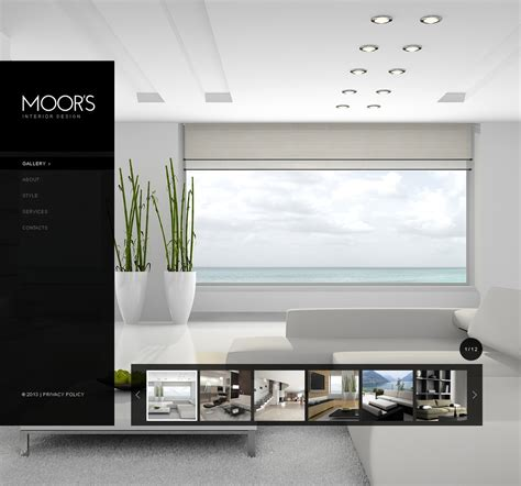 interior design website template 42345