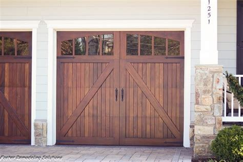 Mahogany Garage Door Wood Garage Doors Mahogany Carriage Doors Traditional Garage And Shed Dc Metro By