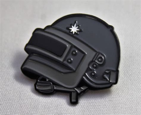 pubg helmet pubg level 3 helmet soft enamel pin player unknown s
