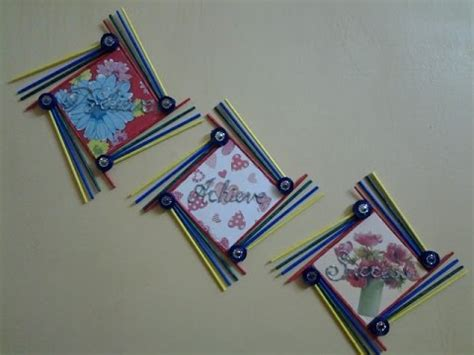 Home Decor Ideas For Diwali by Best Out Of Waste Paper And Foam Board Wall Hanging With