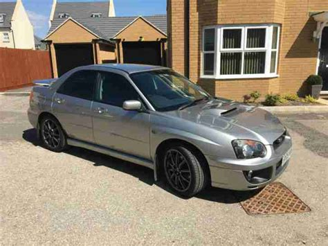 Subaru 2005 Impreza Wrx Turbo Grey Car For Sale