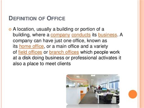office layout definition office design