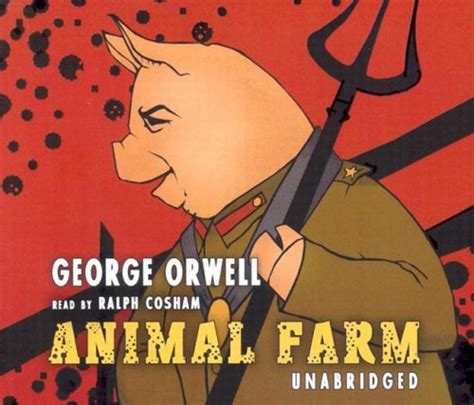 biography of george orwell author of animal farm sarah reads too much audio book review quot animal farm quot by