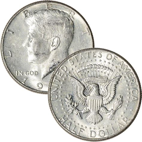 90 silver 1964 kennedy half dollars roll of 20 10