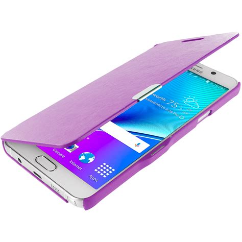 Flip Cover Casing Samsung Galaxy Note 5 Xlevel Xtreme Leather for samsung galaxy note 5 wallet flip magnetic closing cover accessory ebay
