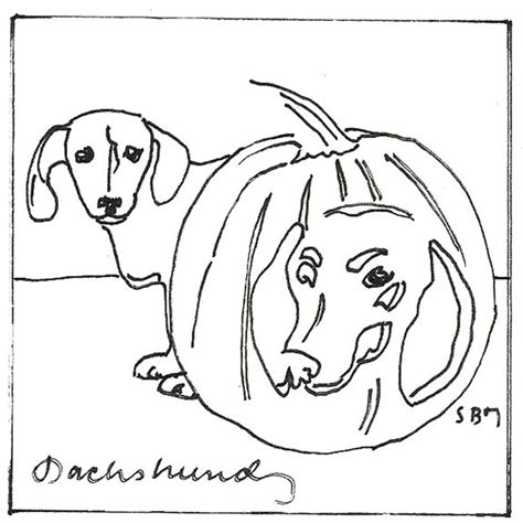 halloween coloring pages dog 16 best dachshund coloring pages images on pinterest