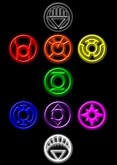 dc colors lantern corps brush set by rockdeadman on deviantart