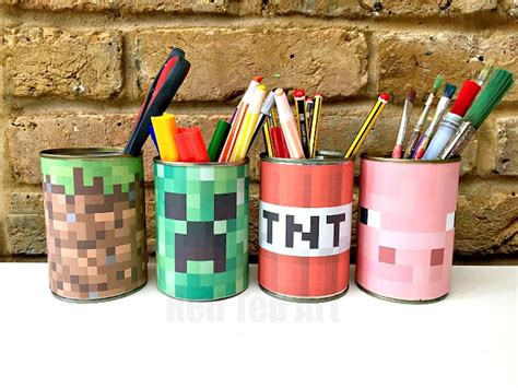 minecraft arts and crafts projects minecraft crafts make this and easy minecraft desk