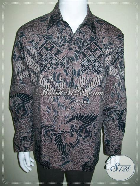 Kain Batik Cap Bahan Dobby kemeja batik bahan dobi lengan panjang batik cap tulis