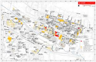 Nc State Campus Map by Sechscp North Carolina State University