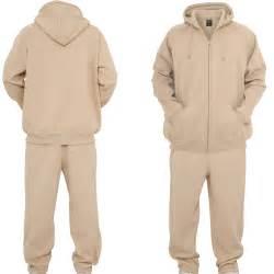 classics blank suit sweat suit beige 68136 at