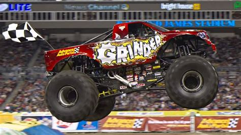 monster jam truck theme songs grinder theme song youtube