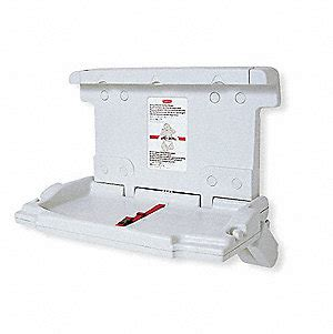 Sturdy Changing Table Rubbermaid Baby Changing Table 3xh33 7818 Grainger