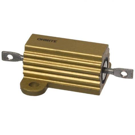 arcol resistors hs25 hs25 10r f ohmite resistors digikey