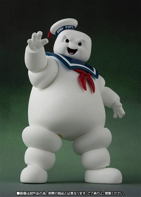 Metal Diecast Stay Puff s h figuarts ghostbusters stay puft marshmallow
