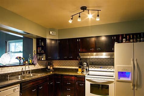 kitchen rail lighting spotlights vs floodlights what s the difference