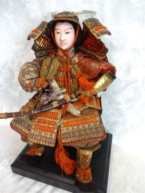 porcelain doll japanese vintage japanese samurai warrior lord porcelain doll