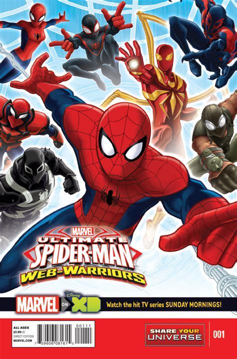 imagenes de ultimate spider man web warriors preview marvel s ultimate spider man web warriors 1