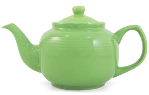 Kitchen Canisters Green Catalog Detail Lime Green Classic 2 Cup Ceramic Teapot
