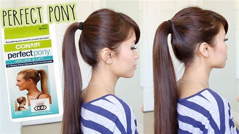 Ponytail Hairstyle Tools by Impression Conair Pony Tool Demo Review