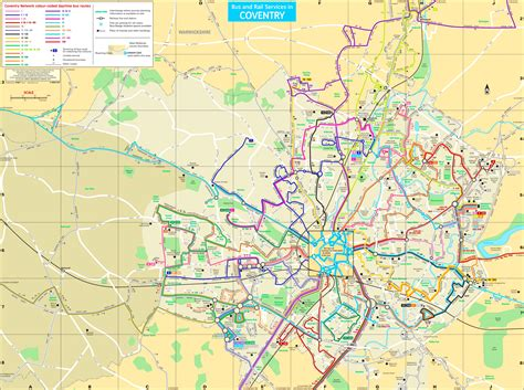 map uk coventry coventry transport map