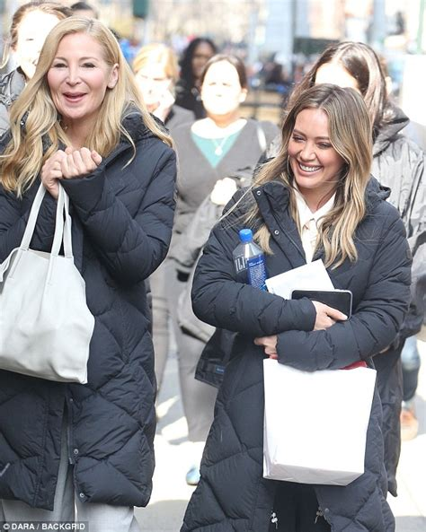 Givenchy Antigona Set Seri 2008 hilary duff goes back to work in nyc on younger daily