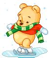 imagenes de winnie pooh con movimiento gif gifs animados de disney en navidad animaciones de disney