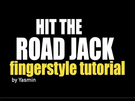 Fingerstyle Tutorial Hit The Road Jack | como tocar hit the road jack en guitarra fingerstyle