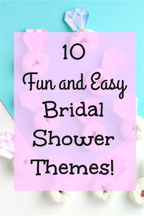 bridal shower themes 10 and easy bridal shower themes val event gal