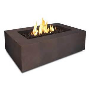 Backyard Fire Pits For Sale Baltic Rectangle Fire Table Kodiak Brown T9650 Kb Real