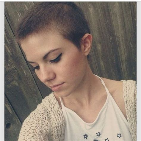 womens buzzed and bold haircuts 25 best ideas about shaved hair women on pinterest