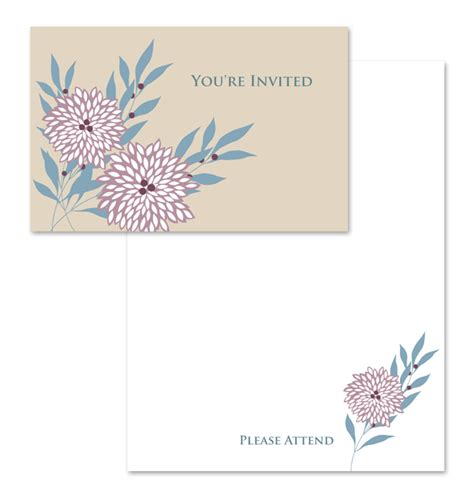you re invited template you re invited note card template