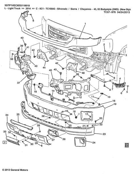 gmc parts diagram gmc truck parts diagram gmc free engine image for