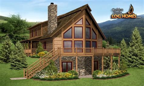 a frame log cabin floor plans a frame log cabin modular home a frame log cabin home