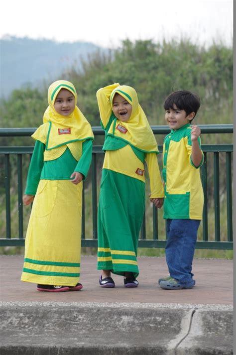 contoh baju muslim terbaru  anak anak