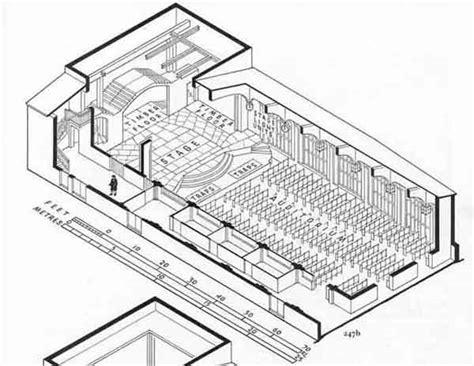 isometric floor plan isometric plan of the theatre