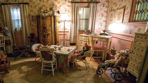 Annabel Interior Design by House Set Built For Warner Bros Thriller Annabelle