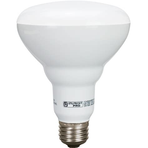 led light bulb shop utilitech pro 3 pack 65 w equivalent dimmable