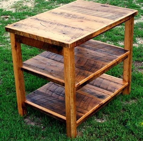 barn wood end table plans reclaimed wood end table plans woodworking projects plans