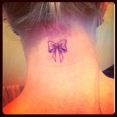 tattoo neck bow tattoo bow tumblr google zoeken tattoo pinterest