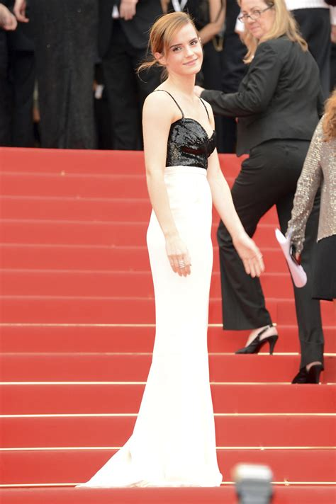 Harry Potter Premiere Watson In Chanel Couture by Moda En El Festival De Cannes 2013 Soyactitud